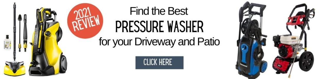 pressure washer for driveway and patio