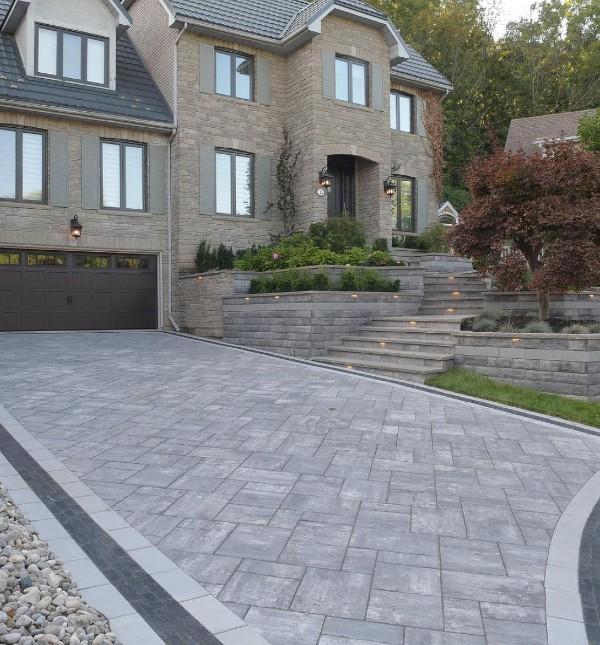 Scenic Stone Landscape & Design Driveway Installation