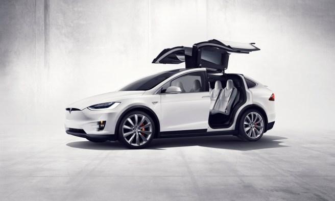 Tesla Model X Falcon Doors