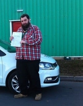 Driving lessons Ardrossan - Tom Ford
