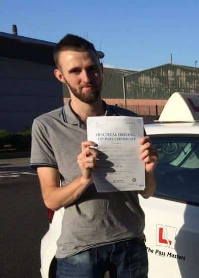 driving lessons Stevenston - Greg Wilton