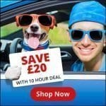Driving Ayrshire - 10 hour block save £20