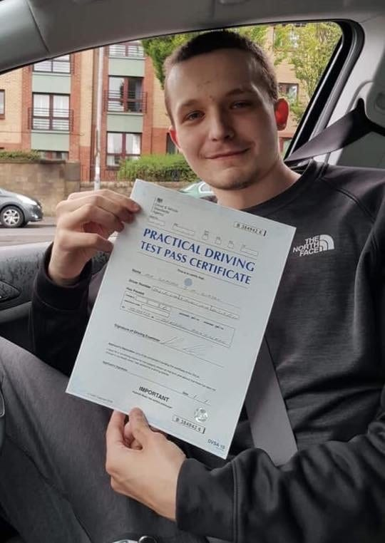 Driving Ayrshire test pass - Graham Gibson