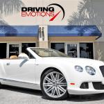 2014 Bentley Continental Gt Speed Convertible Gtc Speed W12 Stock 6118 For Sale Near Lake Park Fl Fl Bentley Dealer