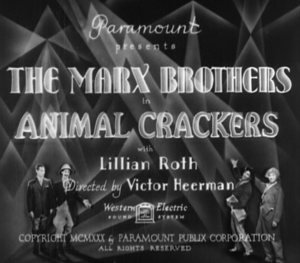 Animal Crackers Main Title