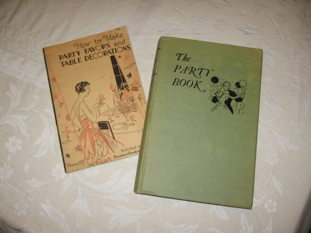 Vintage party books