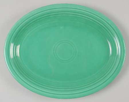 Green 12 inch platter.