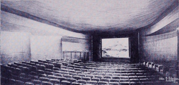 Airline Terminal's newsreel theatre.