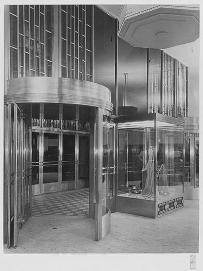Bonwit Teller redesigned entrance.