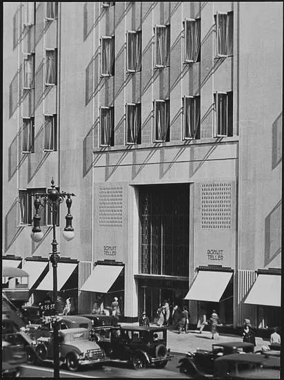 Remodeled 5th Avenue Entrance, Bonwit Teller.