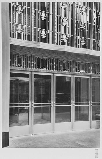 Main Entrance detail.