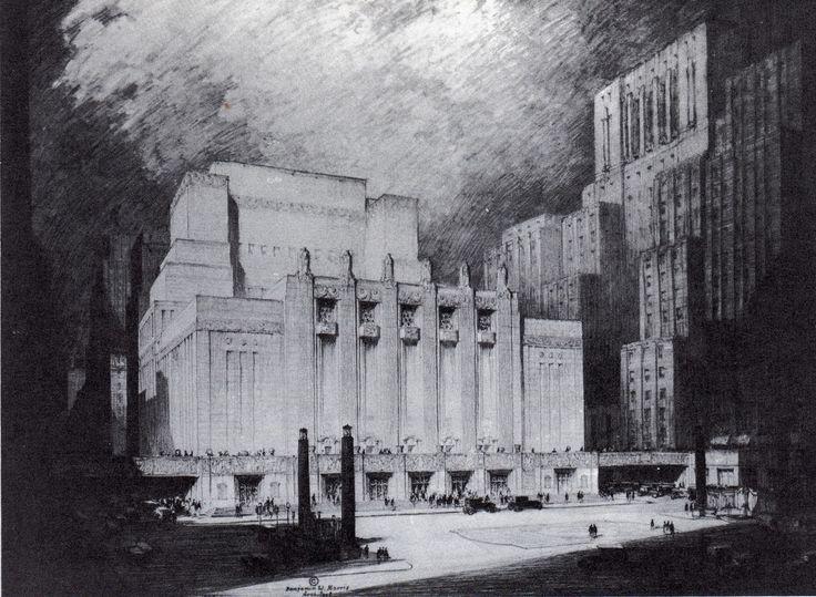 Proposed Metropolitan Opera House