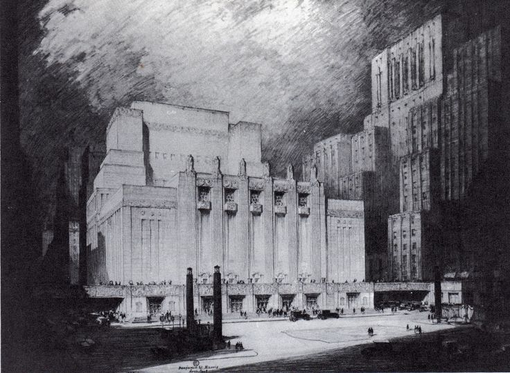 Proposed Metropolitan Opera House