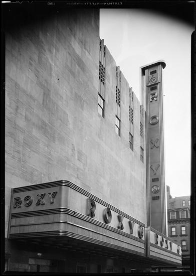 49th Street facade of the R-K-O Roxy.