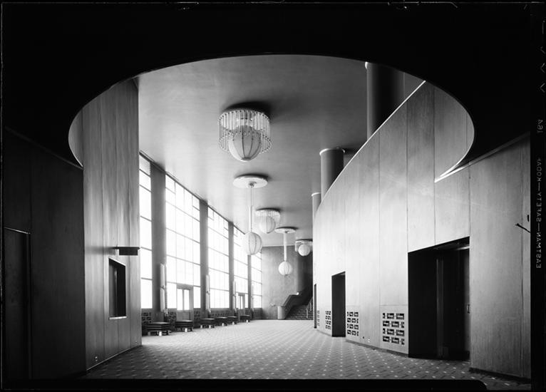 R-K-O Roxy Lobby, November 11, 1932.