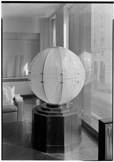 Steuben Glass Showroom. 1935