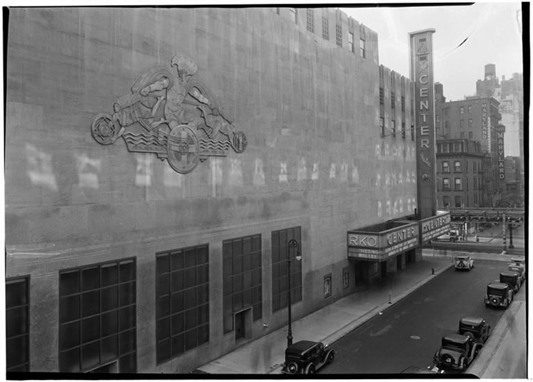 The R-K-O Center Theatre, January, 1934.
