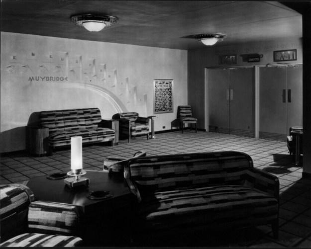 Third mezzanine lounge. 1932