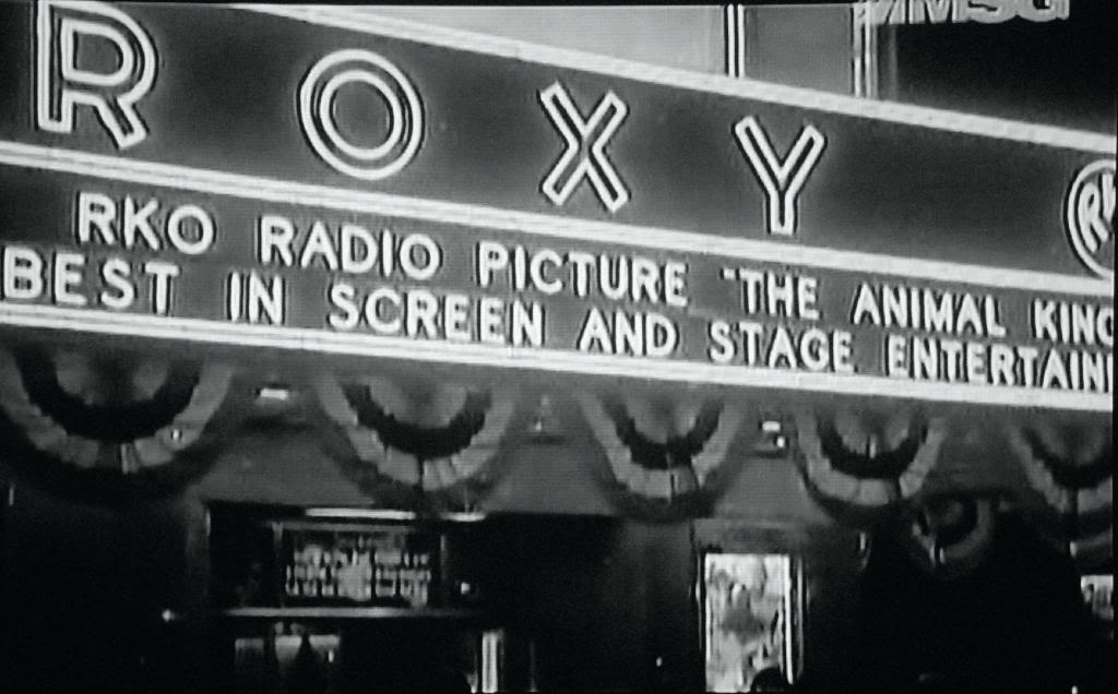 Marquee detail.