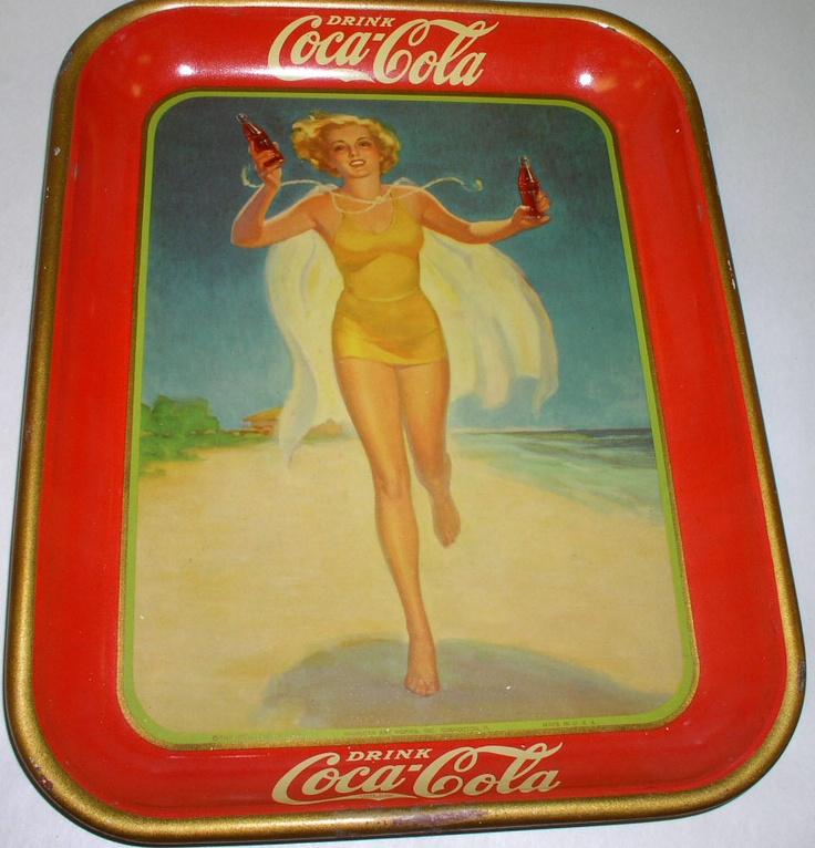 1937 Coca-Cola tray