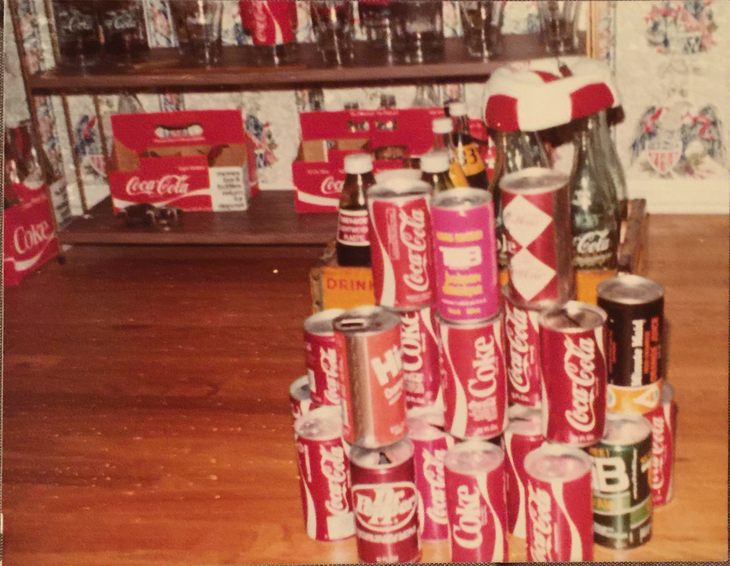 Coca-Cola can collection, 1979
