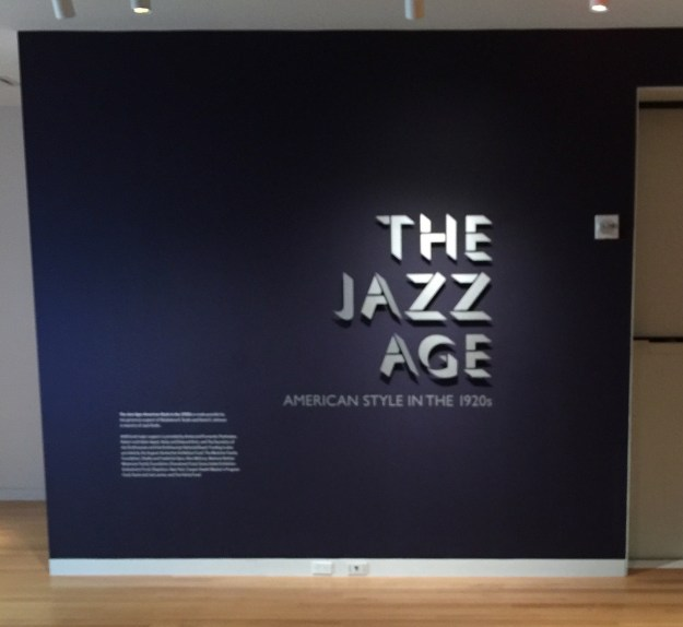 The Jazz Age at the Cooper Hewitt.
