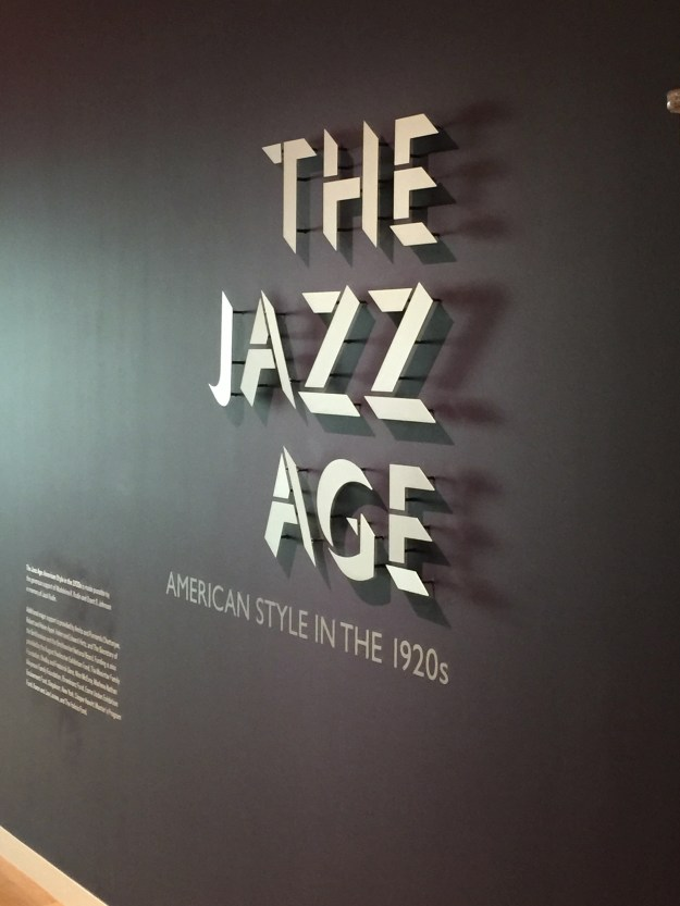 The entrance to the Jazz Exhibition at the Cooper Hewitt Museuem