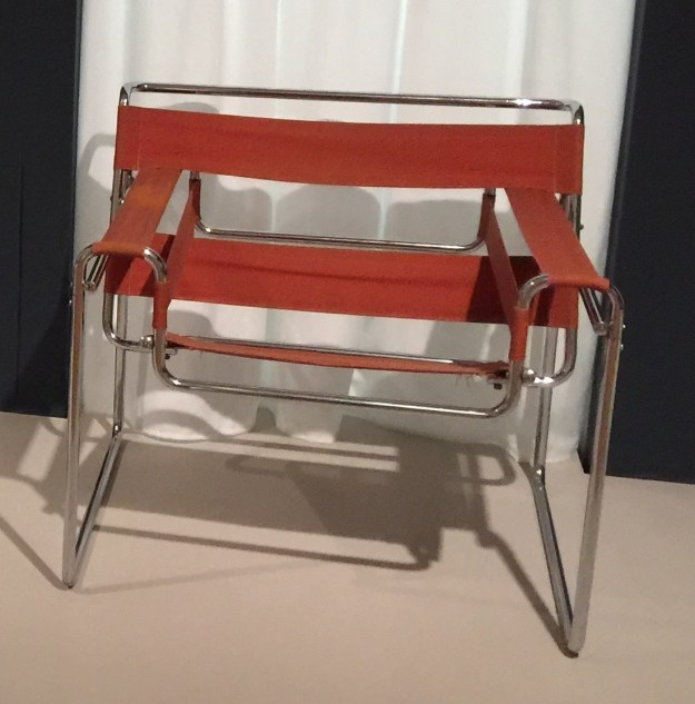 Marcel Breuer's Wassily or B3 Chair.