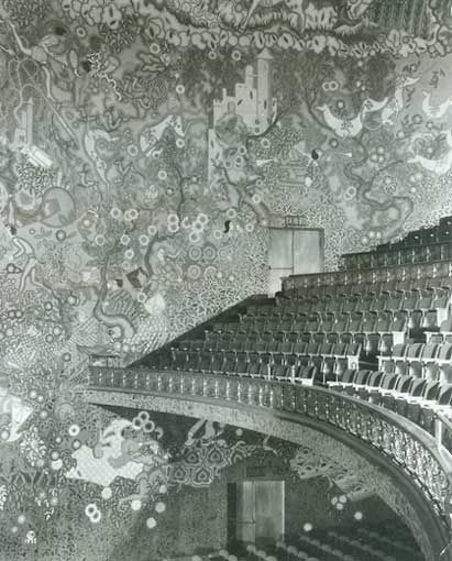 Ziegfeld Theatre interior.