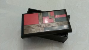 Art Deco lacquered box
