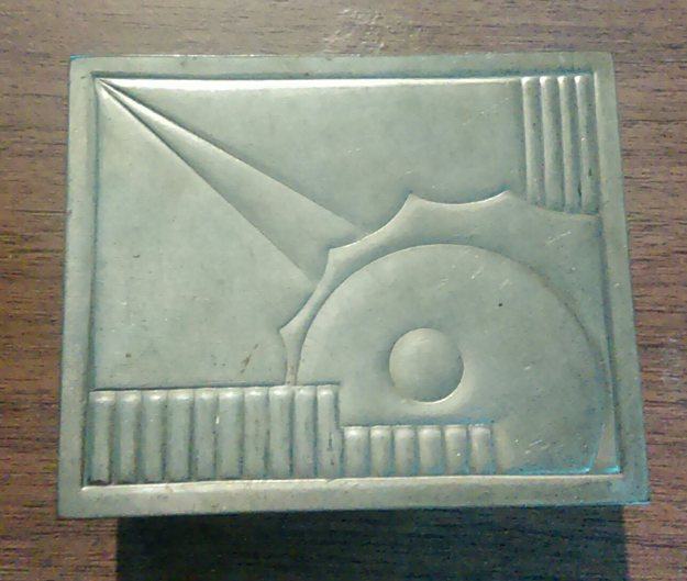 Art Deco trinket box.