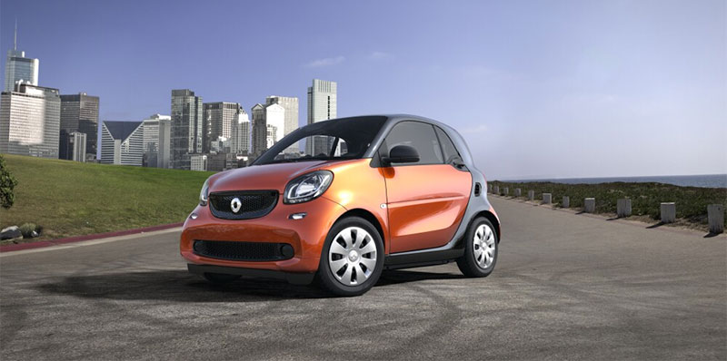 smart car pure coupe