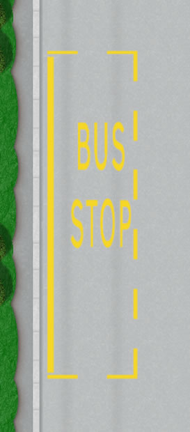 Bus Lane Signs and Bus Stops – Driving Test Tips