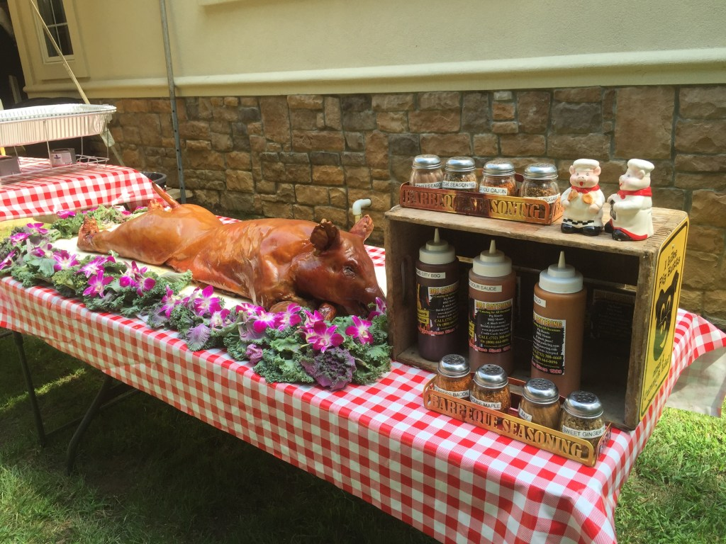 Pig Roasts Backyard Parties Nj Pig Roast Catering Wedding