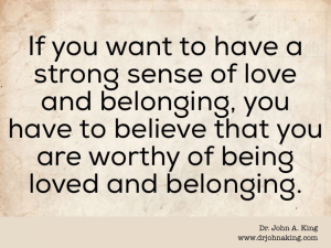 Love and Belonging #drjohnaking #poetry