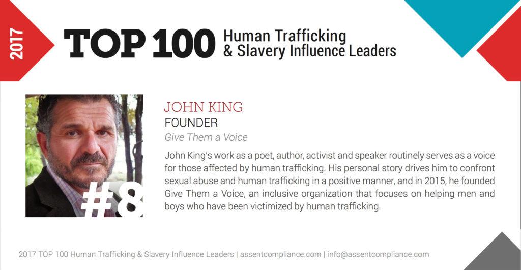 TOP 100 #drjohnaking #humantrafficking #dealwithit