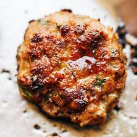 paleo recipe, chickem patties, gluten free recipe,