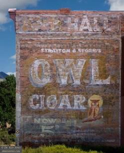 Owl Cigar / Knights of Pythias Hall, Socorro, New Mexico