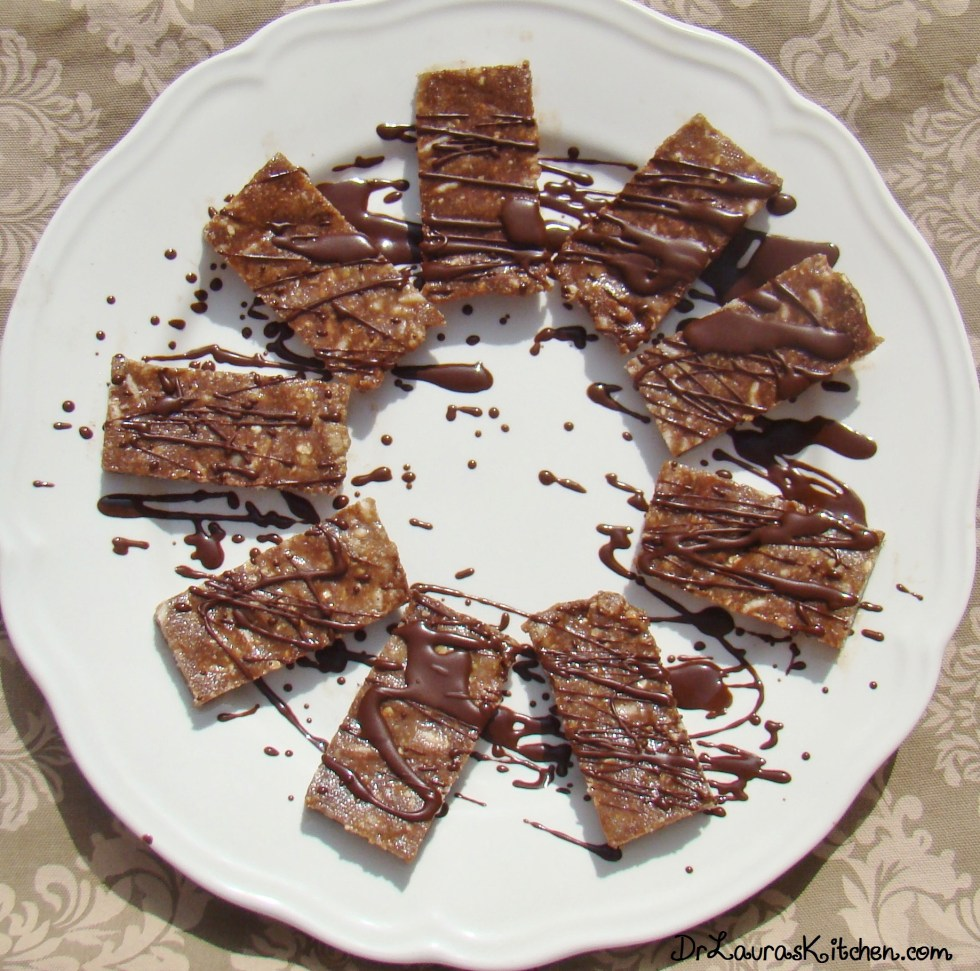 Healthy No-Bake Chocolate Bars