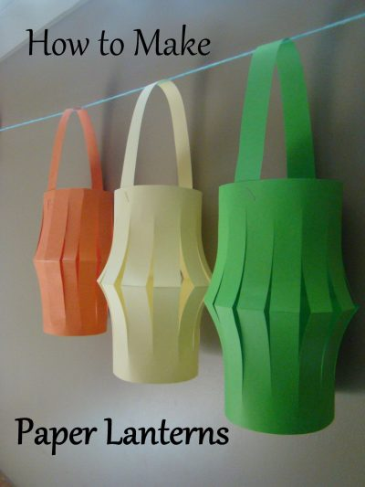 How to Make Paper Lanterns