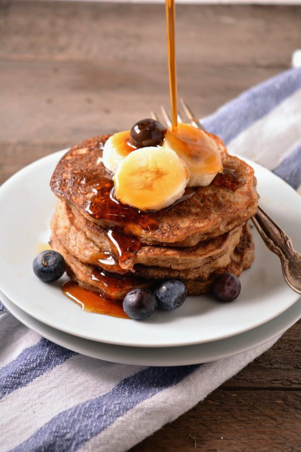 Banana Oat Pancakes (Gluten-free)