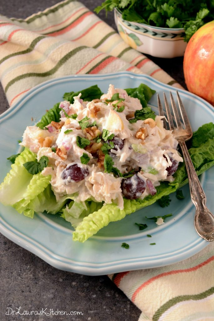 Mayo Free Chicken Salad