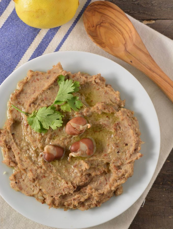 Sprouted Ful Medames