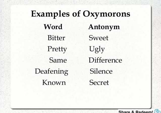 Oxymoron Society Updates List