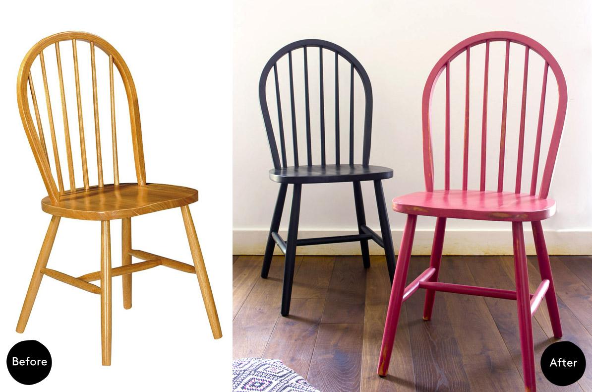 Renovar una silla con chalk paint