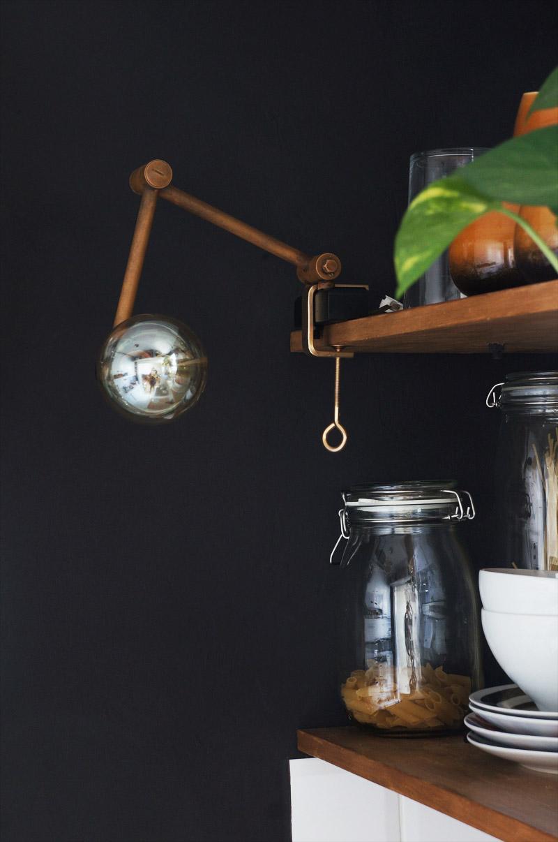 Diy lámpara: convertir un aplique en una lámpara industrial