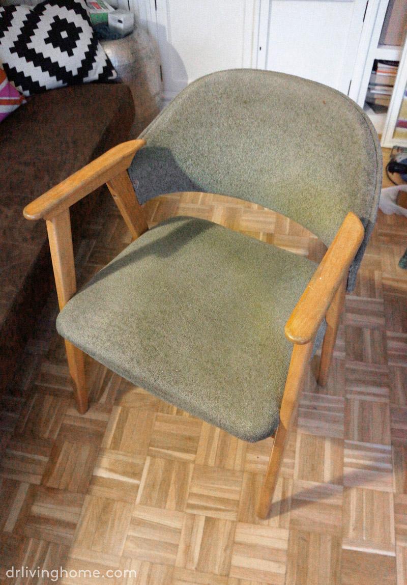C mo tapizar una silla en piel antes y despu s for Sillas para viejitos