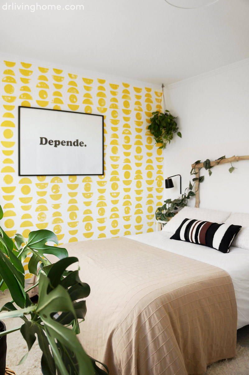 C Mo Crear Un Efecto Papel Pintado De Forma F Cil Y Sin Saber  ~ Papel Pintado Dormitorio Blanco