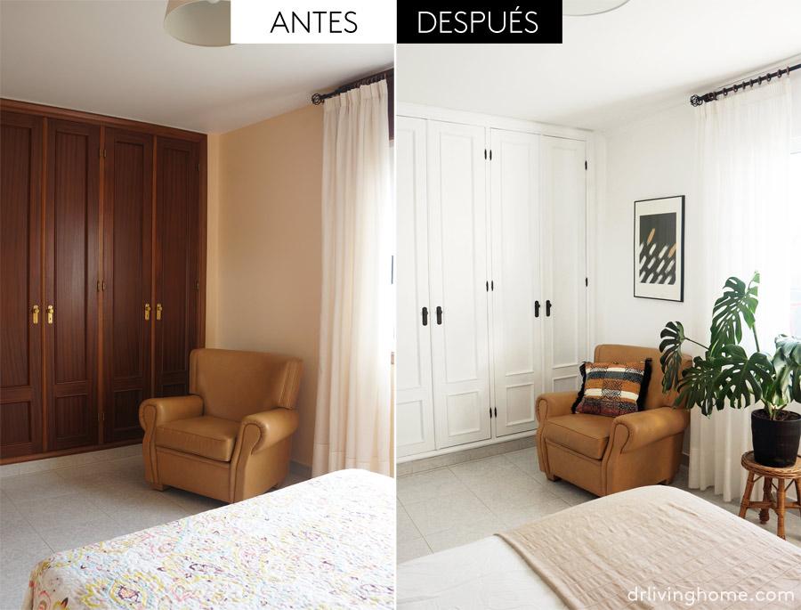 Decoración antes y después