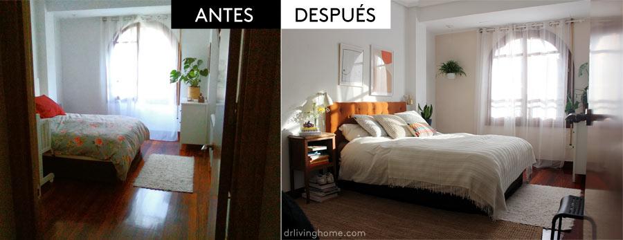 Los antes y después de mis alumnas. El dormitorio de Ainara